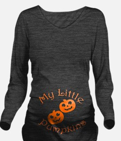 Mylittlepumpkinstwin Long Sleeve Maternity T-Shirt