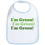 I'm Green! Eco baby infant Bib
