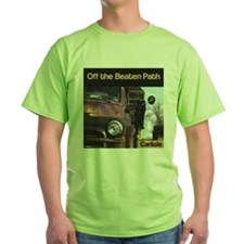 off the beaten cover copy T-Shirt