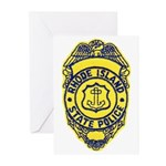 Rhode Island State Police Greeting Cards (Package
