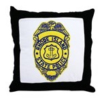 Rhode Island State Police Throw Pillow