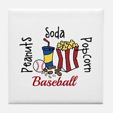 Peanuts Soda Popcorn Tile Coaster