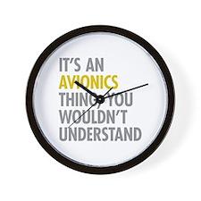 Its An Avionics Thing Wall Clock