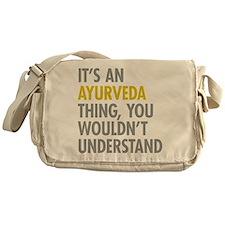 Its An Ayurveda Thing Messenger Bag