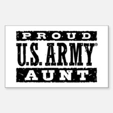 Proud US Army Aunt Decal