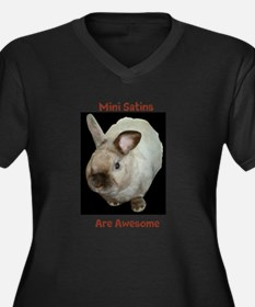 Mini satins are awesome Plus Size T-Shirt