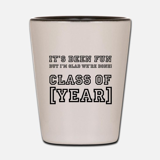 Graduation Year Personalize It! Shot Glass