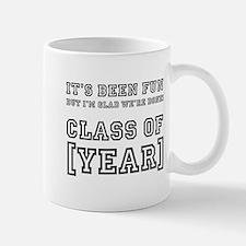 Graduation Year Personalize It! Mugs