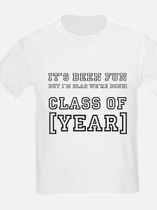 Graduation Year Personalize It! T-Shirt