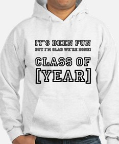 Graduation Year Personalize It! Hoodie