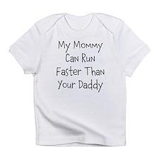 Cute Running daddy Infant T-Shirt