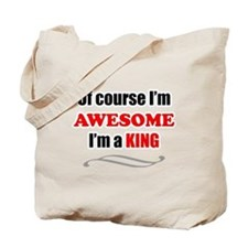King Awesome Family Tote Bag