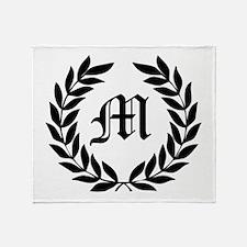 Classic Laurel Wreath Monogram Personalize It! Thr