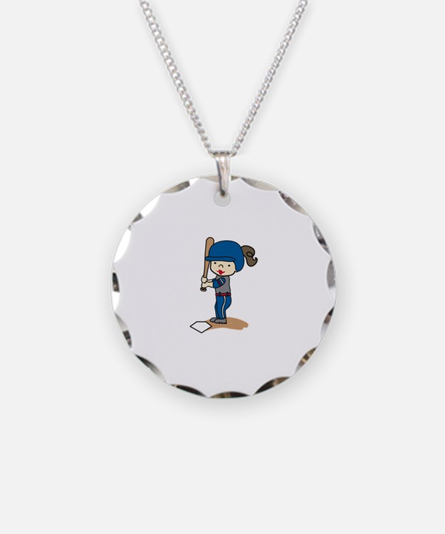 Girl Batter Necklace