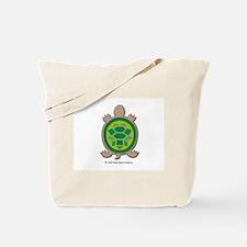 Mosaic Turtle Tote Bag