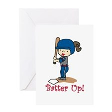 Batter Up! Greeting Cards
