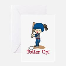 Batter Up! Greeting Cards