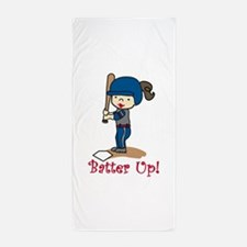 Batter Up! Beach Towel