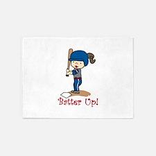 Batter Up! 5'x7'Area Rug
