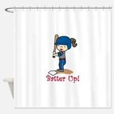 Batter Up! Shower Curtain