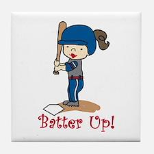 Batter Up! Tile Coaster