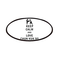 Keep Calm and Love Chun Kuk Do Patches