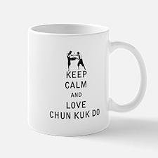 Keep Calm and Love Chun Kuk Do Mugs