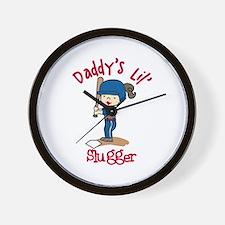 Daddys Lil Slugger Wall Clock