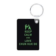 Keep Calm and Love Chun Kuk Do Keychains