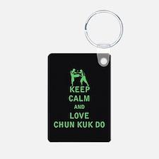 Keep Calm and Love Chun Kuk Do Keychains