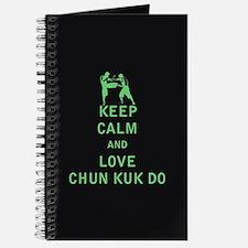 Keep Calm and Love Chun Kuk Do Journal