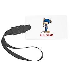 All Star Luggage Tag