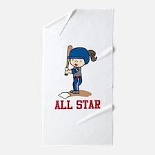 All Star Beach Towel