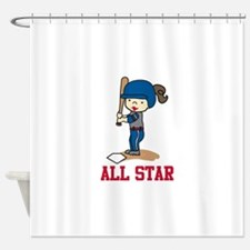 All Star Shower Curtain