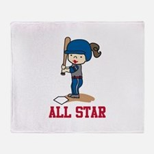 All Star Throw Blanket