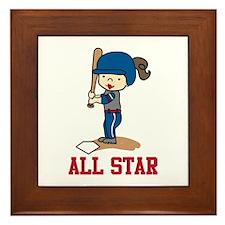 All Star Framed Tile