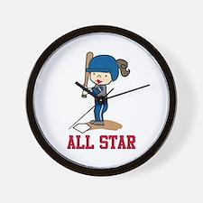 All Star Wall Clock