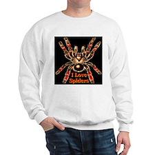 I Love Spiders Sweatshirt