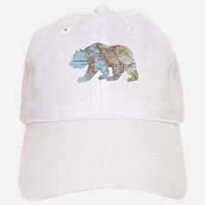 San Francisco Soviet Bear Map Baseball Baseball Baseball Cap