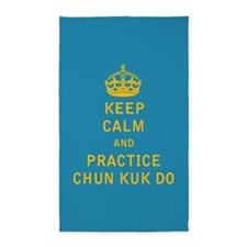 Keep Calm and Practice Chun Kuk Do 3'x5' Area Rug