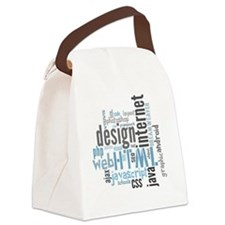 allaboutweb Canvas Lunch Bag