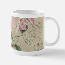 floral paris eiffel tower roses Mugs