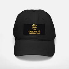 Keep Calm I'm a Chun Kuk Do Instructor Baseball Ha