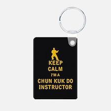 Keep Calm I'm a Chun Kuk Do Instructor Keychains