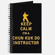 Keep Calm I'm a Chun Kuk Do Instructor Journal