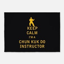 Keep Calm I'm a Chun Kuk Do Instructor 5'x7'Area R