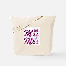 Mrs & Mrs Tote Bag