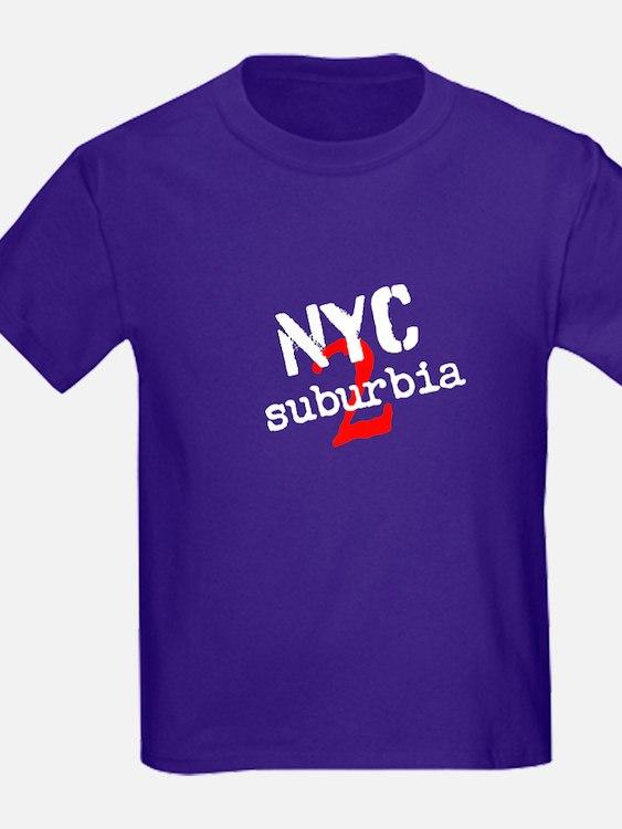 Nyc2suburbia Kids T-Shirt
