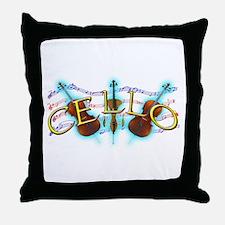 Cello Throw Pillow