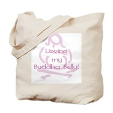 Buddha Belly Maternity Tote Bag